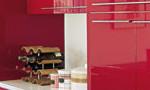 赤いi-smartキッチンに合う家電セレクト