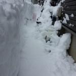 【大雪記事Part2】ポーチ・玄関ドアとエコキュート
