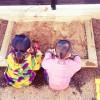 【DIY砂場作り】手作り砂場の作り方【砂場完成編】