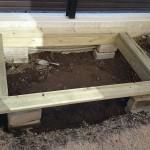 【DIY砂場作り】手作り砂場の作り方【木枠製作編】