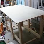 【ガレージ内装DIY-Part16】本格木工工具の導入と簡易作業台作り【イナバ物置・自作】