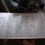【DIY】キャンプ・アウトドア用折りたたみ式のローテーブルを自作するPart4【脚の取り付けと使用感】