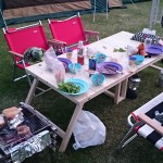 【DIY】キャンプ・アウトドア用折りたたみ式のローテーブルを自作するPart5【脚の補強など】