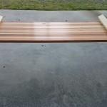 【簡単DIY】天板に市販杉板材使ったキャンプ・アウトドア用ラック/テーブルの自作