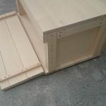 【木工DIY】キャンプ用品収納ボックス/木箱の自作~便利機能あり