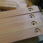 【焚き火テーブルの自作】ユニフレーム風ステンレストップの折り畳みローテーブルPart1