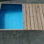 【焚き火テーブルの自作】ユニフレーム風ステンレストップの折り畳みローテーブルPart4