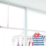 【オシャレなホスクリーン/ホシ姫サマ?!タイプの新製品情報】デザイン性の良い屋内物干しのご紹介!天井付けで取り付けも簡単!