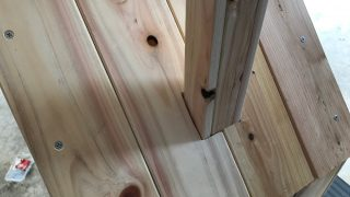 【木工DIY】子供にシルバニアファミリーのような小さい家を作る(ぬいぐるみ用)part4
