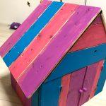 【木工DIY】子供にシルバニアファミリーのような小さい家を作る(ぬいぐるみ用)part5