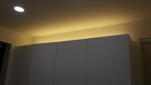 【間接照明】DIYでシューズウォール上にLED照明を設置【簡単・安い】