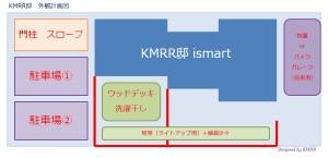 KMRR外観計画図